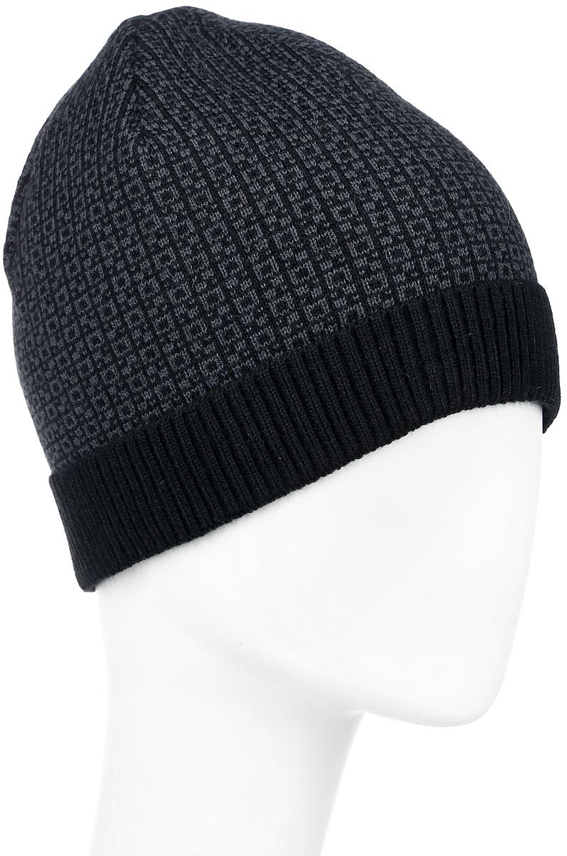 Шапка детскаяВершина-22Теплая шапка для мальчика Concept выполнена из высококачественного 100% пана. Шапка с небольшим отворотом оформлена контрастным принтом и дополнена фирменной нашивкой с надписью. Уважаемые клиенты! Размер, доступный для заказа, является обхватом головы.