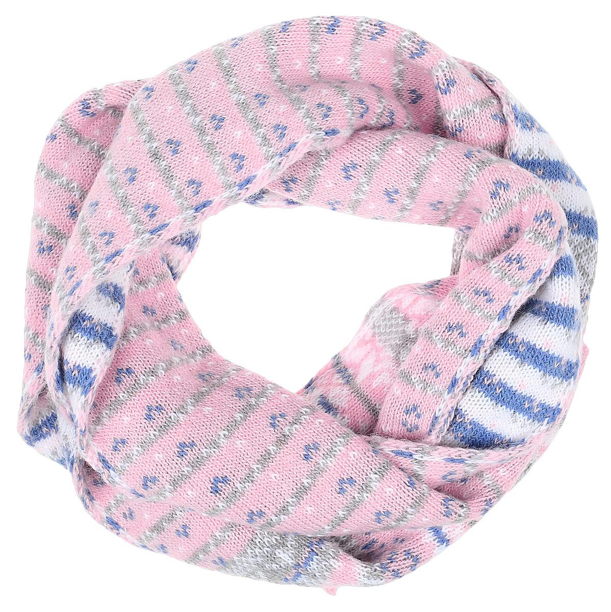 W16-12128_202Теплый женский шарф Finn Flare станет достойным завершением вашего образа. Шарф изготовлен из сочетания высококачественных материалов. Модель оформлена контрастным принтом.