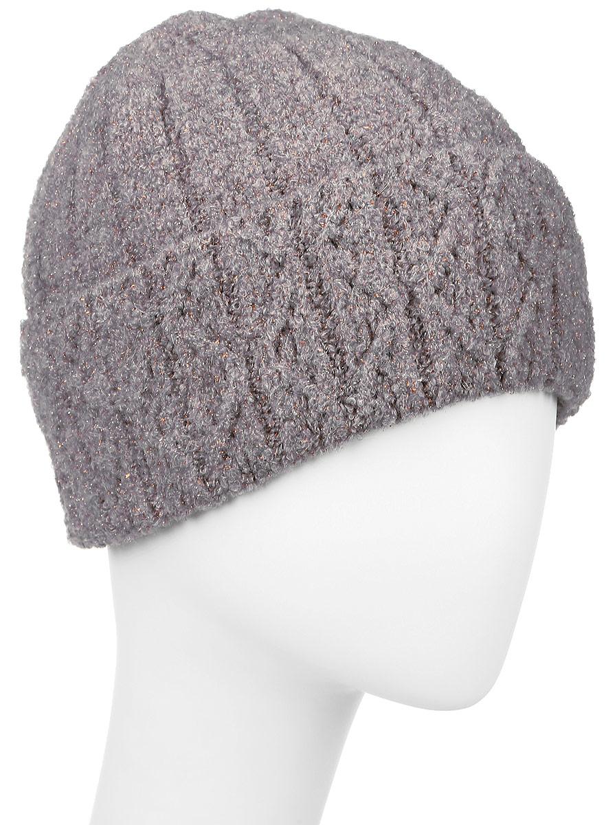 ШапкаSWH6078Теплая женская шапка Snezhna отлично дополнит ваш образ в холодную погоду. Сочетание высококачественных материалов с металлизированной нитью максимально сохраняет тепло и обеспечивает удобную посадку, невероятную легкость и мягкость. Модель составит идеальный комплект с модной верхней одеждой, в ней вам будет уютно и тепло. Уважаемые клиенты! Размер, доступный для заказа, является обхватом головы.
