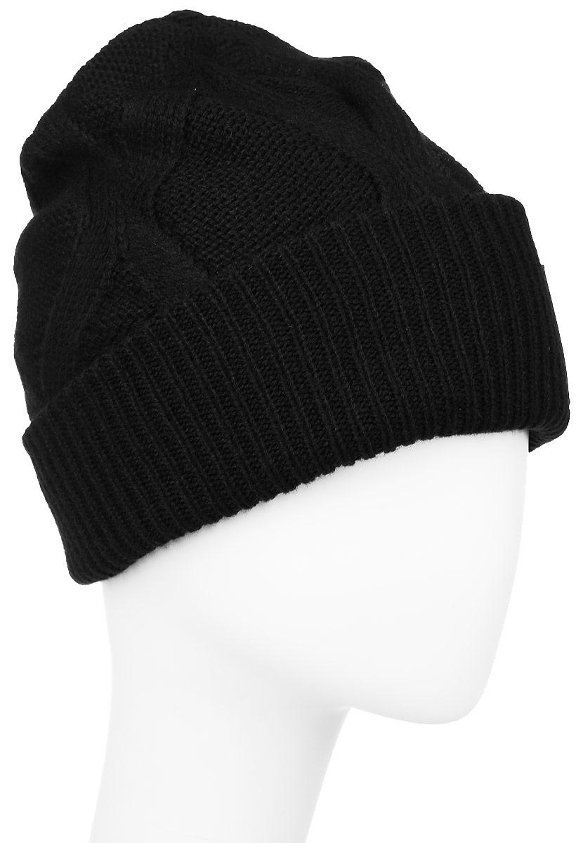 ШапкаAY0424Стильная женская шапка Reebok Sport Essentials Cable Beanie выполнена из высококачественного полиакрила. Шапка оформлена оригинальным вязаным узором и небольшой вышивкой с фирменным логотипом. Уважаемые клиенты! Размер, доступный для заказа, является обхватом головы.