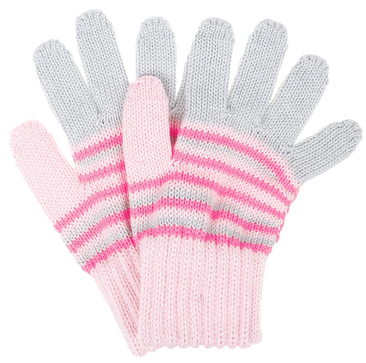 Перчатки детскиеGemma-22Перчатки для девочки Margot Bis выполнены из акрила и хлопка. Изделие оформлено ярким вязаным рисунком. Перчатки очень мягкие и приятные на ощупь, не раздражают кожу и хорошо сохраняют тепло. Верх модели на мягкой резинке, которая не стягивает запястья и надежно фиксирует перчатки на руках.