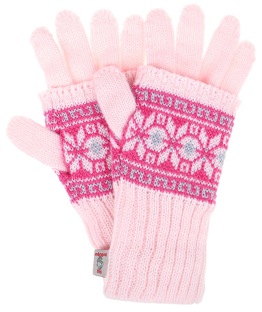 Alina-22Теплые детские перчатки 2 в 1 Margot Bis выполнены из высококачественного акрила и оформлены оригинальным принтом в виде орнамента. Модель состоит из митенок и перчаток, которые можно носить как вместе, так и по раздельности. Митенки имеют отверстие для большого пальца. Перчатки очень мягкие и приятные на ощупь, не раздражают нежную кожу ребенка, хорошо сохраняют тепло. Верх модели на мягкой резинке, которая не стягивает запястья и надежно фиксирует перчатки на руках ребенка.