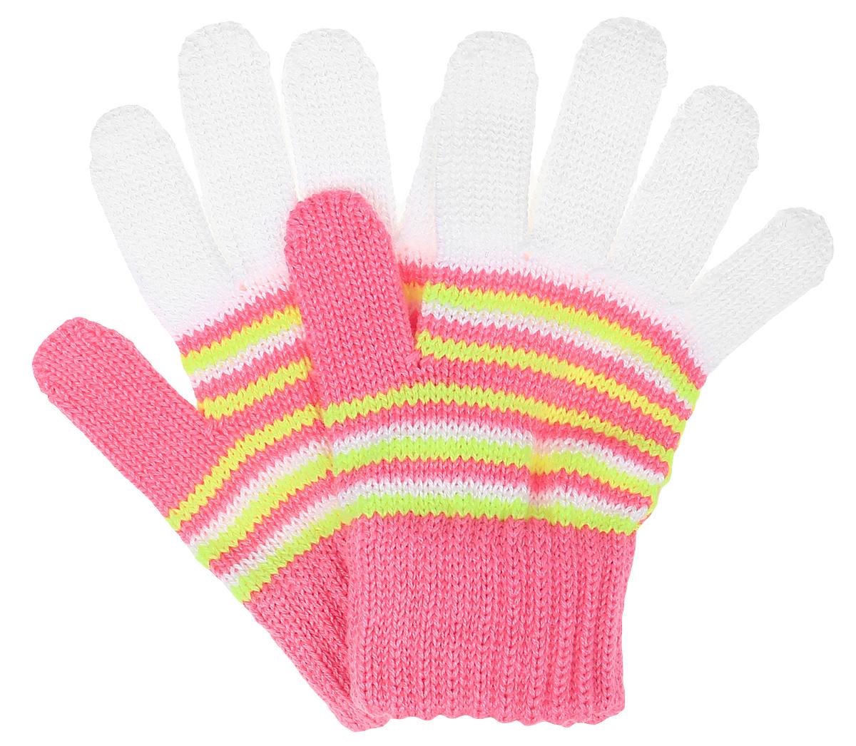 Gemma-22Перчатки для девочки Margot Bis выполнены из акрила и хлопка. Изделие оформлено ярким вязаным рисунком. Перчатки очень мягкие и приятные на ощупь, не раздражают кожу и хорошо сохраняют тепло. Верх модели на мягкой резинке, которая не стягивает запястья и надежно фиксирует перчатки на руках.