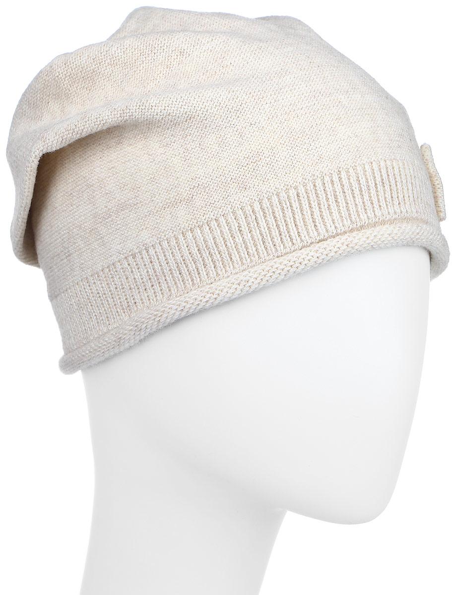 Ретро-22Стильная вязаная шапка для девочки Concept идеально подойдет для прогулок в прохладное время года. Изготовленная из акрила и шерсти, она обладает хорошими дышащими свойствами и хорошо удерживает тепло. Шапка декорирована металлической фурнитурой и стразами. Понизу проходит широкая вязаная резинка. Такая шапка станет модным и стильным предметом детского гардероба. Уважаемые клиенты! Размер, доступный для заказа, является обхватом головы ребенка.