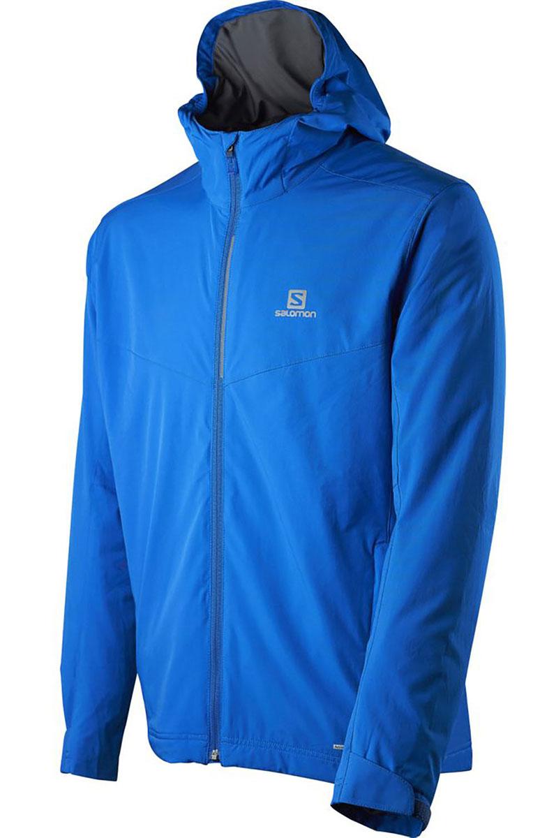 L39087400Теплая, непродуваемая, элегантная куртка Nova Softshell из эластичного материала с капюшоном отлично подходит как для занятий спортом, так и для отдыха после тренировок