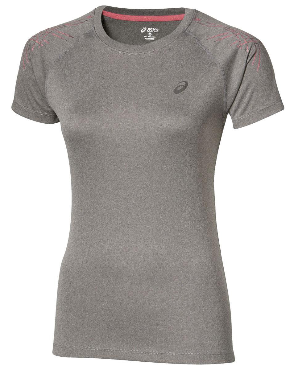 126232-0798Женская футболка Asics Stripe Top SS предназначена специально для бега. Эта легкая беговая футболка обеспечит вам безупречный комфорт и достижение высоких спортивных результатов благодаря мягкой, эластичной ткани, которая отводит влагу и поддерживает тело сухим. Плоские швы не натирают кожу и обеспечивают полный комфорт. Фасон рукавов-реглан элегантен и создает свободу движений. Футболка декорирована логотипом и тигровыми полосками на рукавах. Максимальный комфорт и уникальный спортивный образ!