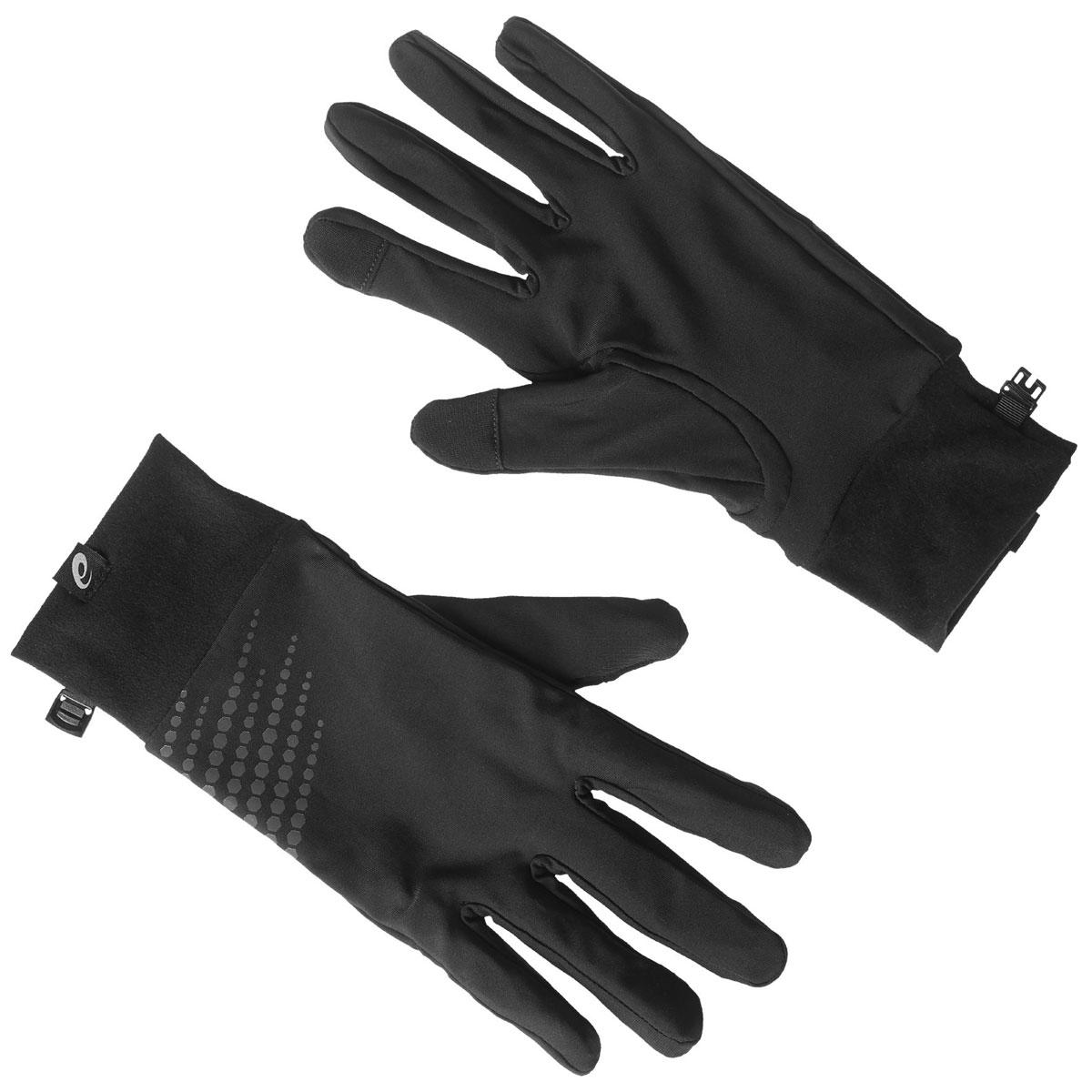 Перчатки134927-0656Спортивные перчатки для бега Asics выполнены из полиамида и эластана, комфортных при носке. Снаружи модель оформлена оригинальным принтом и нашивкой с изображением логотипа бренда. Манжет надежно зафиксирует модель на запястье, не сдавливая его. Также перчатки оснащены застежкой-фастексом.