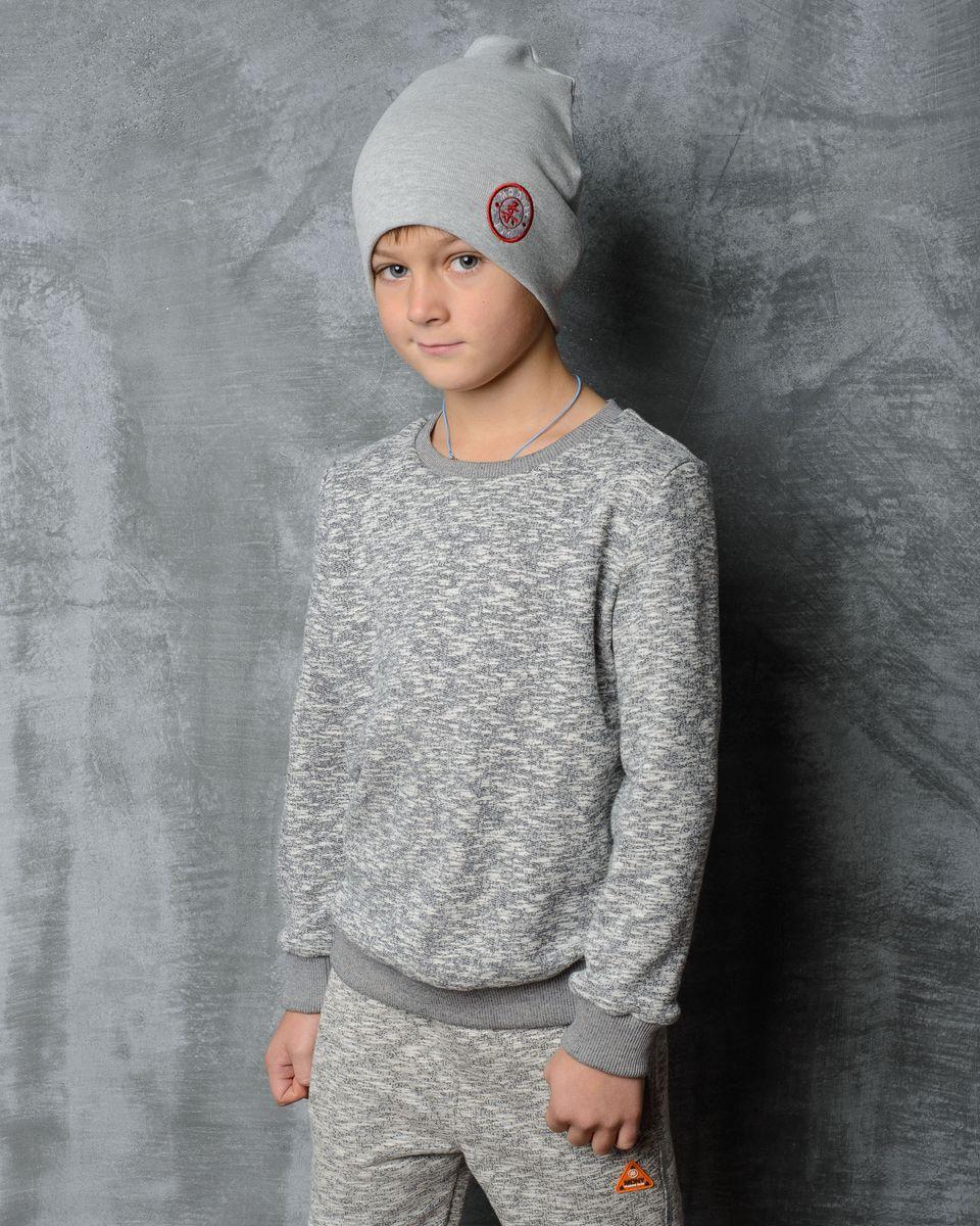 30В00020800/JUDOСтильная шапка для мальчика Modniy Juk идеально подойдет для прогулок в прохладное время года. Изготовленная из хлопка с добавлением лайкры, она обладает хорошими дышащими свойствами и хорошо удерживает тепло. Шапка декорирована небольшой текстильной нашивкой. Уважаемые клиенты! Размер, доступный для заказа, является обхватом головы ребенка.