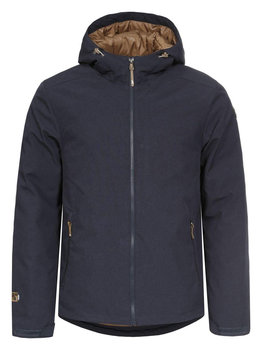 Куртка657802547IVКуртка Icepeak Timi, изготовленная из водоотталкивающей и ветрозащитной ткани, которая создает оптимальный микроклимат внутри куртки, в качестве утеплителя используется Ball Fiber (искусственный пух: 140г). Помимо этого здесь использовался утеплитель. Куртка с несъемным капюшоном застегивается на молнию с внутренним ветрозащитным клапаном. Рукава дополнены хлястиками на липучках для регулировки размера. Спереди куртка дополнена двумя врезными карманами на молнии, а с внутренней стороны расположены один втачной карман на молнии. Низ куртки дополнен кулиской со стопперами.