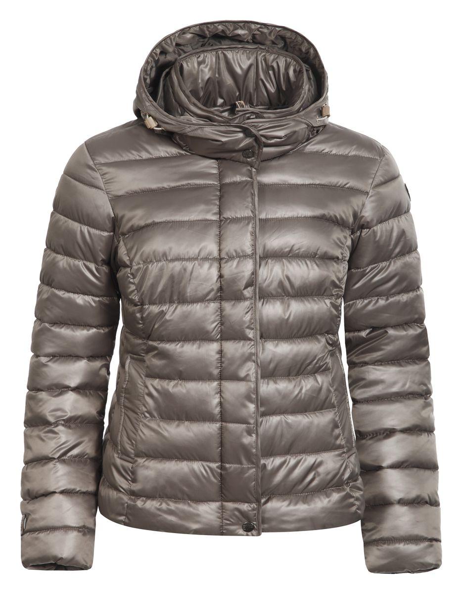 Куртка653035507IVЖенская куртка Icepeak Tulia выполнена из 100% полиэстера. В качестве подкладки и утеплителя также используется полиэстер. Материал изготовлен при помощи технологий Water Repellent и Cooltech. Технология Water Repellent защитит материал от воздействия влаги и придаст водоотталкивающие свойства, а технология Cooltech обеспечивает высокую влаговыводимость и оставляет тело сухим. Модель с воротником-стойко и и съемным капюшоном застегивается на застежку-молнию и имеет ветрозащитную планку на кнопках. Край капюшона дополнен шнурком-кулиской со стоплерами. Капюшон пристегивается к изделию за счет застежки-молнии. Спереди расположено два прорезных кармана с клапанами на кнопках, а с внутренней стороны - большой накладной карман-сетка. Куртка оформлена фирменной нашивкой.