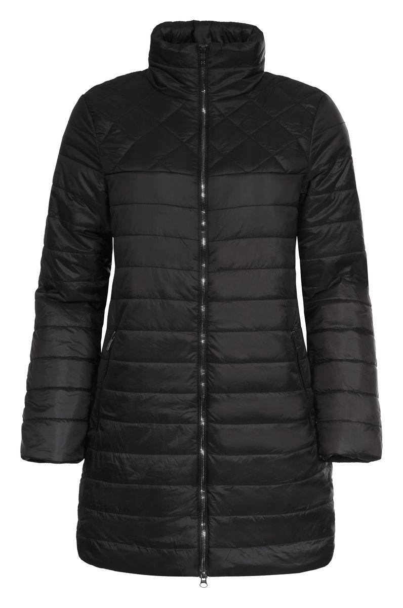 Куртка636475363LVСтильная женская куртка Luhta Pijatta согреет вас в прохладную погоду. Модель выполнена из 100% полиамида, а подкладка из полиэстера с утеплителем из высокотехнологичного полиэстера (100 г/м2). Модель с длинными рукавами и воротником-стойкой застегивается на застежку- молнию. Спереди куртка дополнена двумя втачными карманами с застежками-молниями, а с внутренней стороны одним прорезным карманом на молнии. Эта модная куртка послужит отличным дополнением к вашему гардеробу.