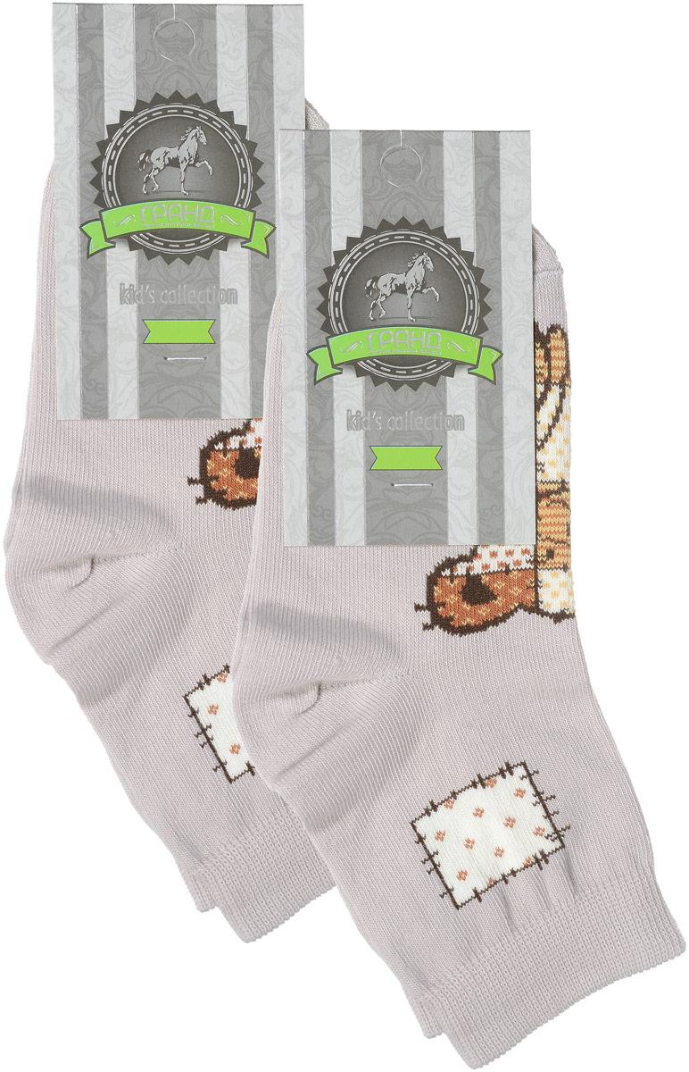 НоскиYCL41Яркие детские носки Гранд, изготовленные из высококачественного хлопка с добавлением полиамида и эластана, обеспечат тепло ногам и великолепную посадку. Носки оформлены оригинальным принтом. Удобная резинка идеально облегает ногу и не пережимает сосуды, удлиненный паголенок придает более эстетичный вид. Мыс и носок усилены. В комплект входят две пары носков.