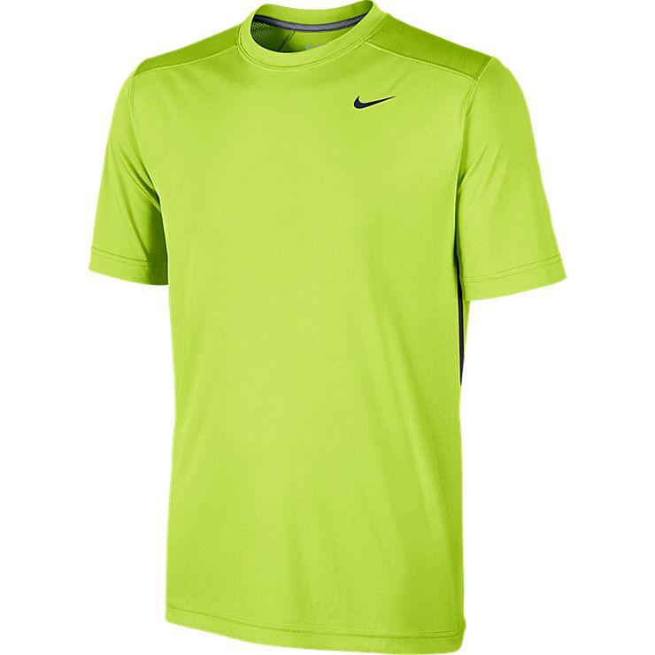 Футболка646155-060Футболка Nike Legacy Ss обеспечивает комфорт и доступ свежего воздуха через систему сетчатой вентиляции. Прочная конструкция выдержит даже самые интенсивные нагрузки.