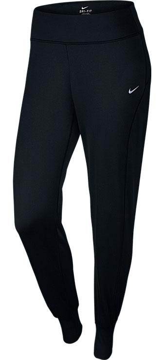 Брюки спортивные686925-010Брюки Nike Thermal созданы для защиты от холода! Ткань с функцией отвода влаги дает ощущение комфорта и сухости, позволяя в холодную погоду пробежать на несколько километров больше.