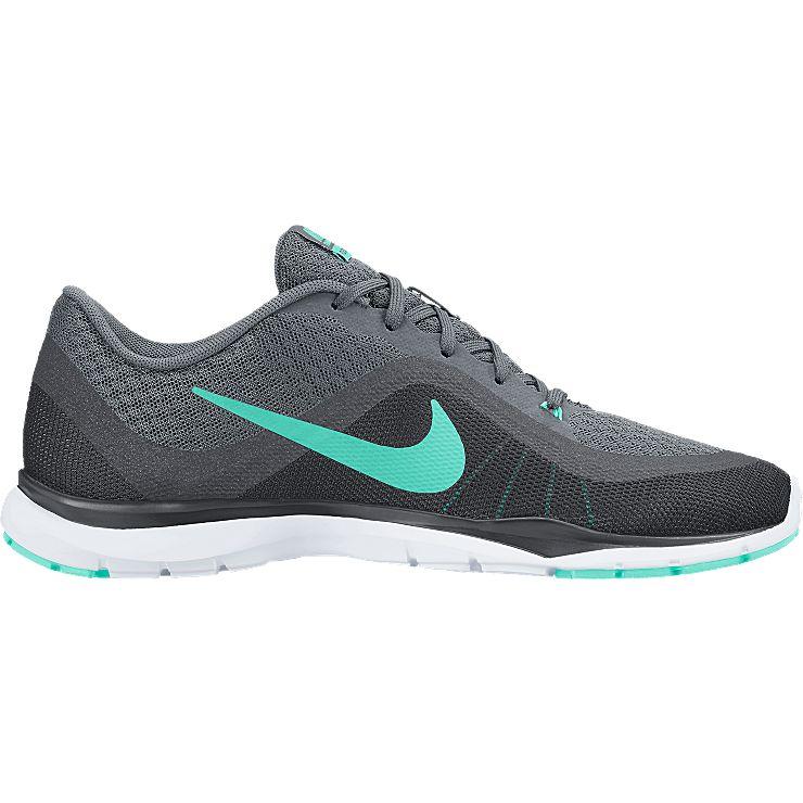 831217-004Кроссовки Nike Flex Trainer 6 из дышащего сетчатого текстиля. Технология Flywire обеспечивает фиксацию и поддержку. Шнуровка на подъеме, съемная стелька, гибкая резиновая подошва со специальными вставками для надежного сцепления.