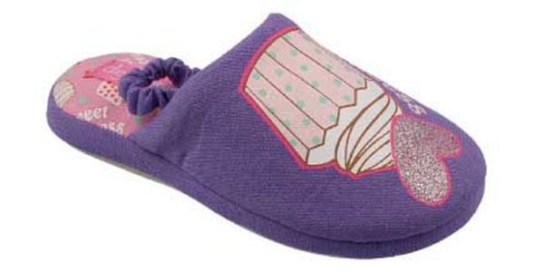 MIX B72Домашняя обувь. Верх обуви текстиль, подошва резина.