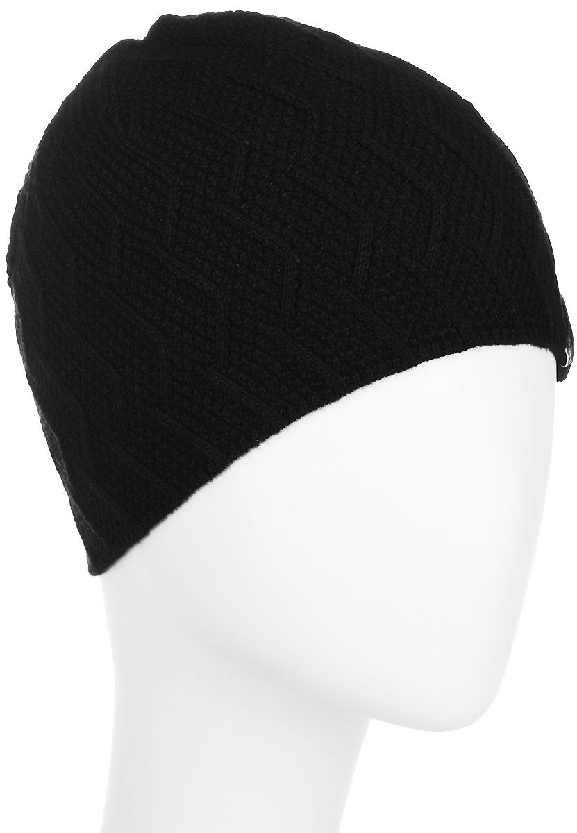 Шапка детскаяМиссия-22-1Стильная шапка для мальчика Concept идеально подойдет для прогулок в прохладное время года. Изготовленная из хлопка с добавлением пана, она обладает хорошими дышащими свойствами и хорошо удерживает тепло. Шапка декорирована небольшой текстильной нашивкой и оформлена интересным вязаным узором. Уважаемые клиенты! Размер, доступный для заказа, является обхватом головы ребенка.