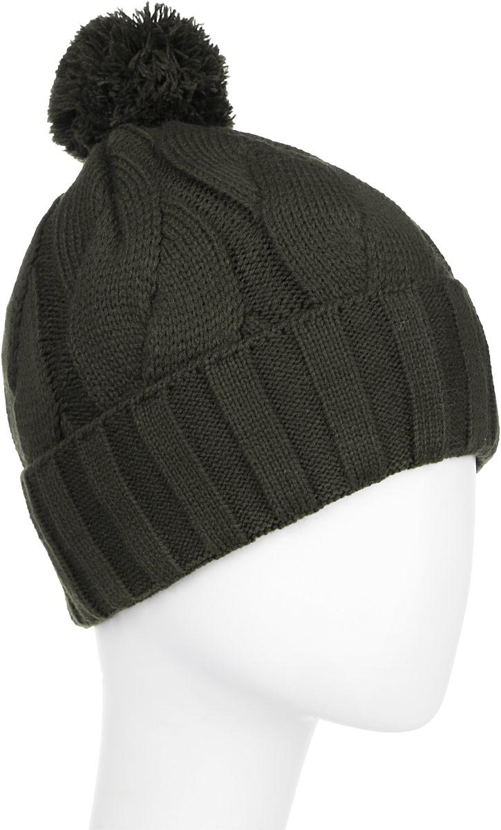 Тайсон-22-1Стильная шапка для мальчика Concept идеально подойдет для прогулок в прохладное время года. Изготовленная из шерсти и акрила, она обладает хорошими дышащими свойствами и хорошо удерживает тепло. Шапка декорирована небольшой текстильной нашивкой. Дополнена модель небольшим помпоном на макушке и отворотом. Уважаемые клиенты! Размер, доступный для заказа, является обхватом головы ребенка.