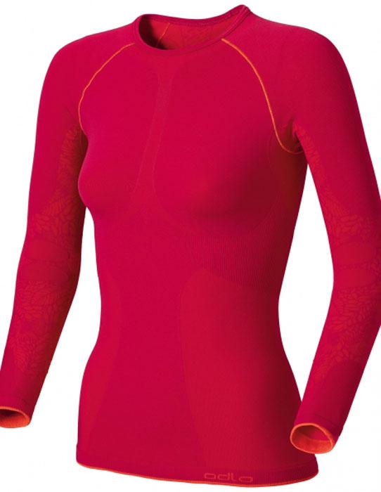 Термобелье футболка180671Женская футболка с длинным рукавом для активного отдыха и занятий спортом на природе в зимнее время года. Изнаночной слой футболки из флиса с начесом для поддержки оптимального температурного баланса. Наличие функциональных вставок обеспечивает воздухопроницаемость, а ионы серебра, входящие в состав волокон, предотвращают появление запаха пота. Благодаря высокой эластичности футболка не сковывает движений и создает ощущение мягкости на теле. Для дополнительного комфорта нижняя кромка футболки плоская.