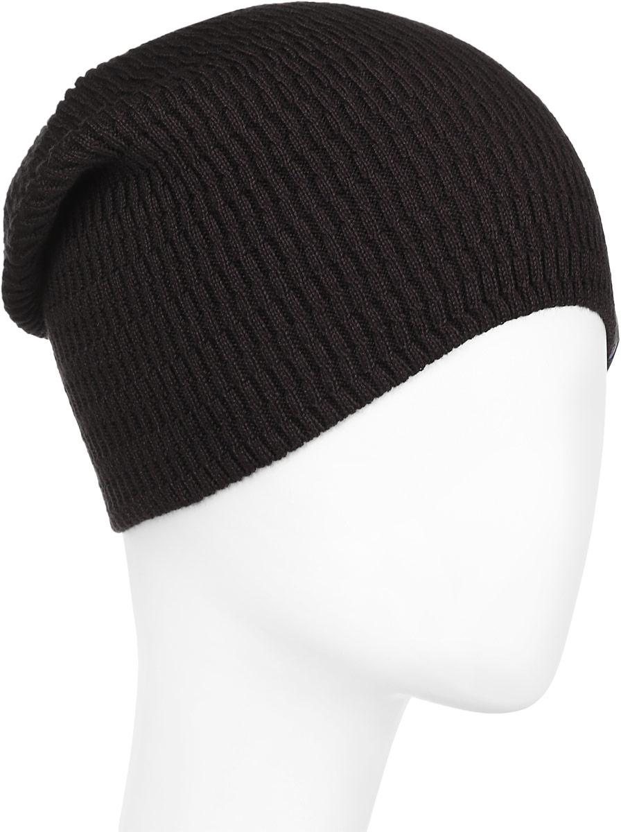 Шапка детскаяВихрь-22-1Стильная удлиненная шапка для мальчика Concept идеально подойдет для прогулок в прохладное время года. Изготовленная из хлопка с добавлением пана, она обладает хорошими дышащими свойствами и хорошо удерживает тепло. Шапка декорирована небольшой текстильной нашивкой. Уважаемые клиенты! Размер, доступный для заказа, является обхватом головы ребенка.