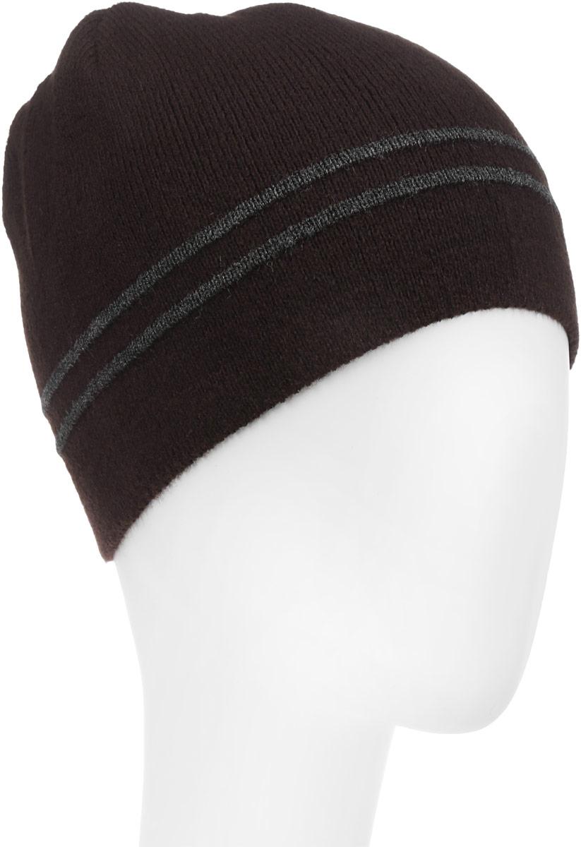 Шапка детскаяМ005-22-1Стильная шапка для мальчика Concept выполнена из акрила и шерсти, она обладает хорошими дышащими свойствами и отлично удерживает тепло. Изделие великолепно тянется и удобно сидит. Шапка украшена принтом в полоску и дополнена оригинальной нашивкой с названием бренда. Уважаемые клиенты! Размер, доступный для заказа, является обхватом головы.