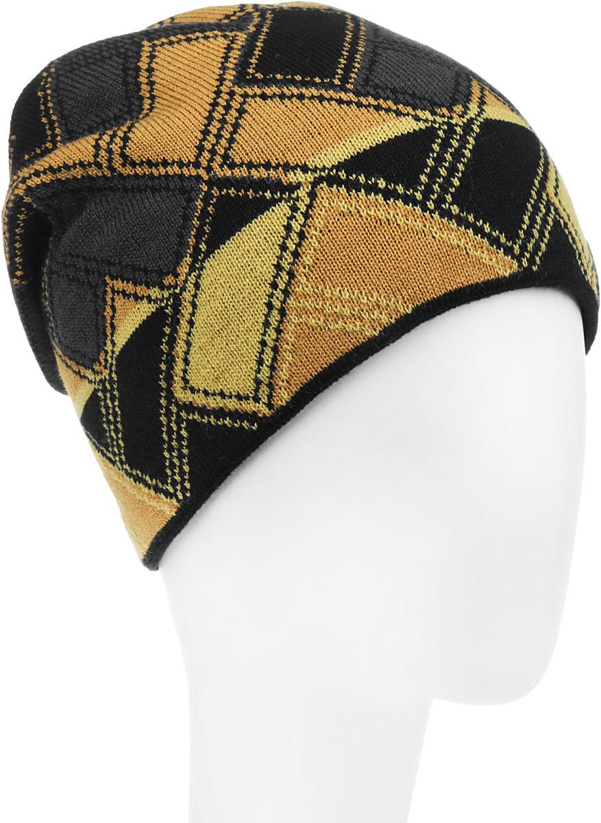 Брайзер-22-1Стильная шапка для мальчика Concept идеально подойдет для прогулок в прохладное время года. Изготовленная из шерсти с добавлением акрила, она обладает хорошими дышащими свойствами и хорошо удерживает тепло. Внутри - флисовая подкладка. Шапка оформлена интересным принтом. Уважаемые клиенты! Размер, доступный для заказа, является обхватом головы ребенка.