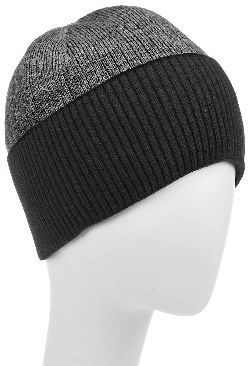 Шапка детскаяТопаз-22-1Стильная шапка для мальчика Concept идеально подойдет для прогулок в прохладное время года. Изготовленная из шерсти и акрила, она обладает хорошими дышащими свойствами и хорошо удерживает тепло. Шапка декорирована небольшой текстильной нашивкой и дополнена отворотом. Уважаемые клиенты! Размер, доступный для заказа, является обхватом головы ребенка.