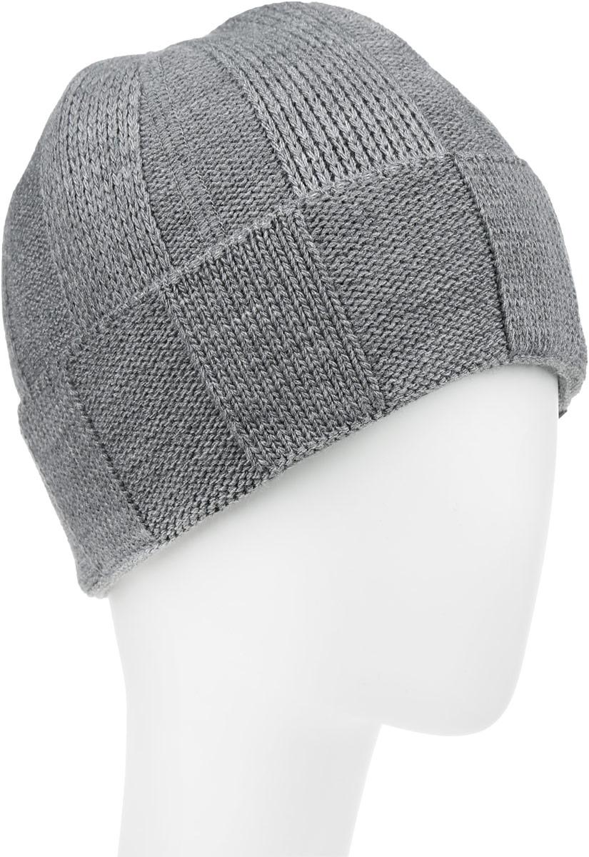 Шапка детскаяПижон-22-1Стильная шапка для мальчика Concept идеально подойдет для прогулок в прохладное время года. Изготовленная из акрила с добавлением шерсти, она обладает хорошими дышащими свойствами и хорошо удерживает тепло. Шапка декорирована небольшой текстильной нашивкой и дополнена отворотом. Уважаемые клиенты! Размер, доступный для заказа, является обхватом головы ребенка.
