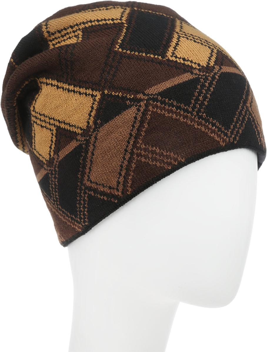 Шапка детскаяБрайзер-22-1Стильная шапка для мальчика Concept идеально подойдет для прогулок в прохладное время года. Изготовленная из шерсти с добавлением акрила, она обладает хорошими дышащими свойствами и хорошо удерживает тепло. Внутри - флисовая подкладка. Шапка оформлена интересным принтом. Уважаемые клиенты! Размер, доступный для заказа, является обхватом головы ребенка.