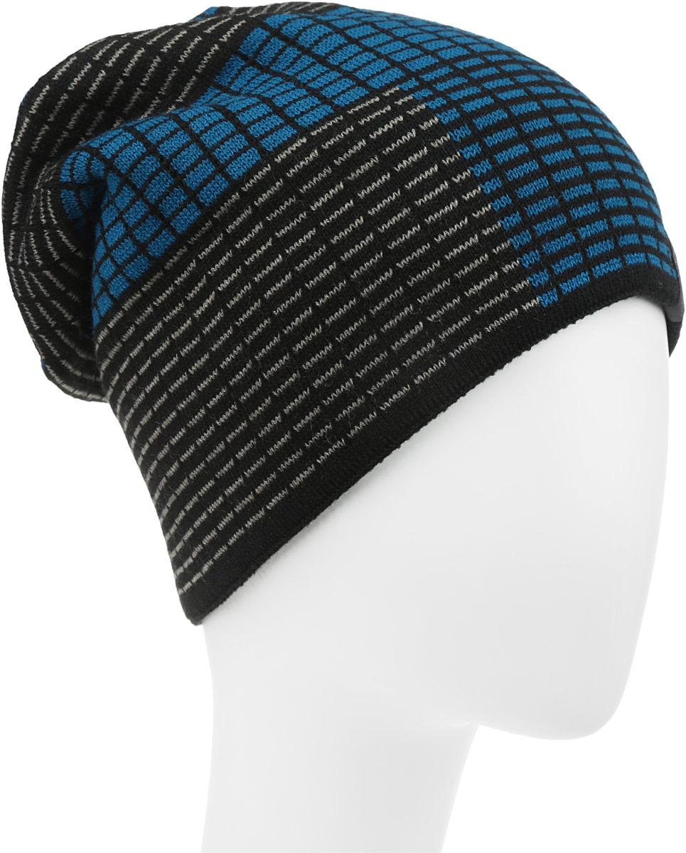 Тетрис-22-1Стильная шапка для мальчика Concept выполнена из шерсти и акрила, она обладает хорошими дышащими свойствами и отлично удерживает тепло. Изделие великолепно тянется и удобно сидит. Внутри - флисовая подкладка. Шапка украшена интересным принтом и дополнена нашивкой с логотипом бренда. Уважаемые клиенты! Размер, доступный для заказа, является обхватом головы.