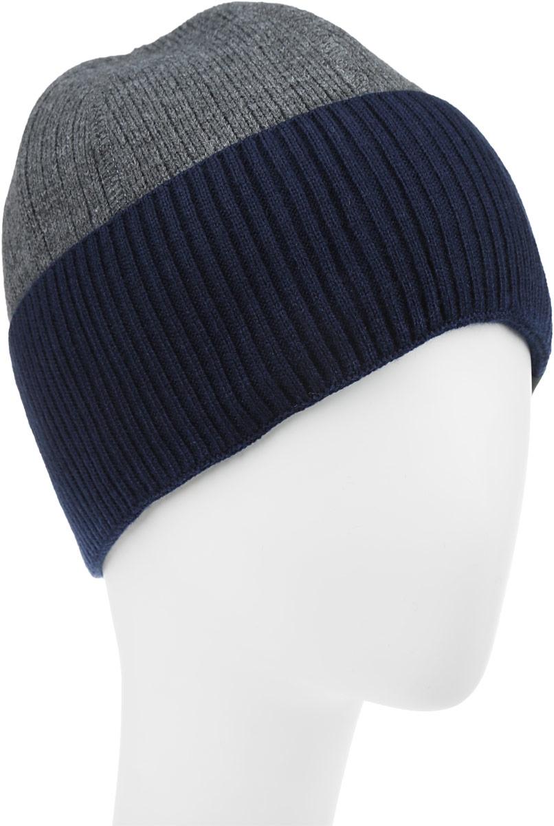 Топаз-22-1Стильная шапка для мальчика Concept идеально подойдет для прогулок в прохладное время года. Изготовленная из шерсти и акрила, она обладает хорошими дышащими свойствами и хорошо удерживает тепло. Шапка декорирована небольшой текстильной нашивкой и дополнена отворотом. Уважаемые клиенты! Размер, доступный для заказа, является обхватом головы ребенка.