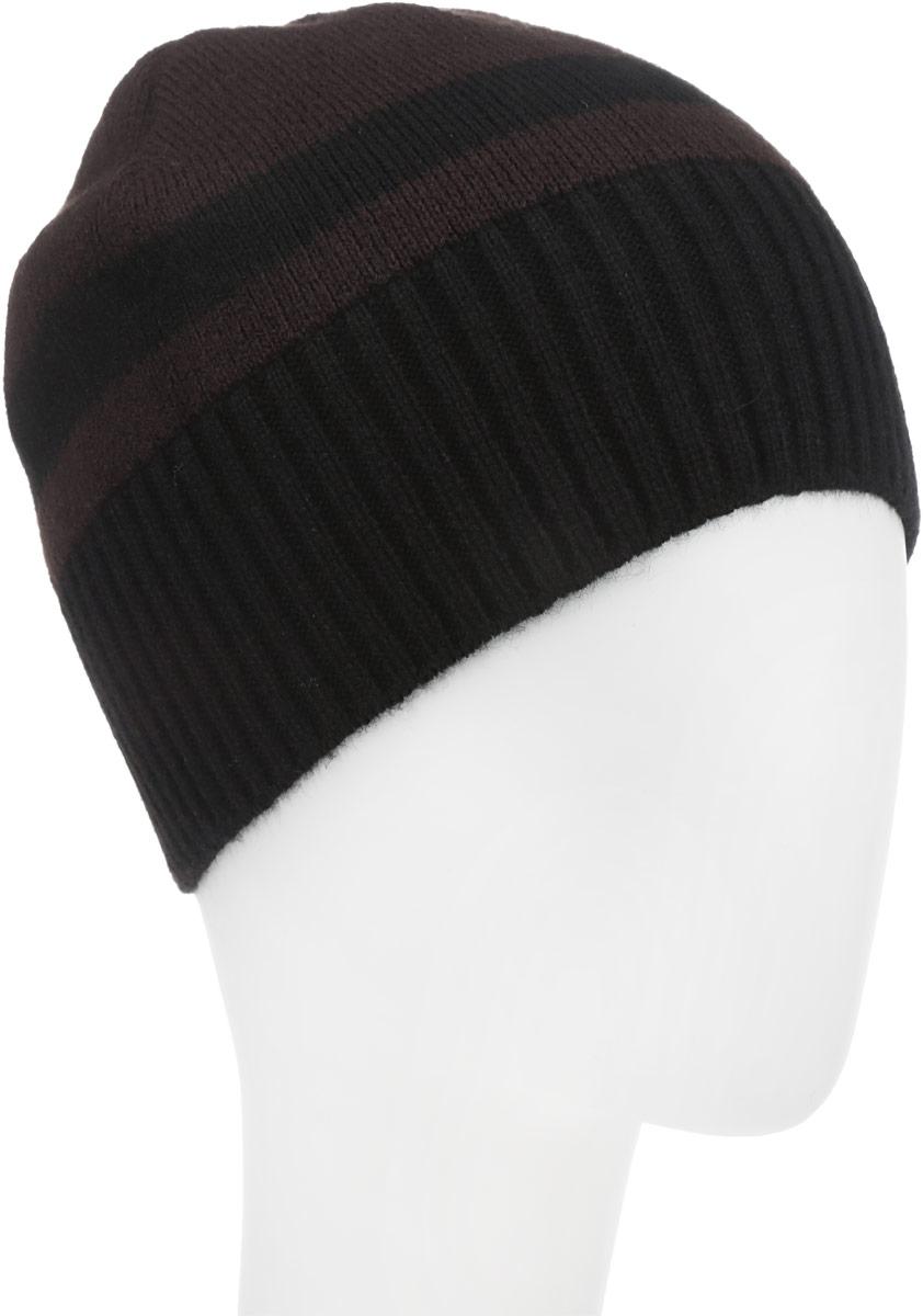 Шапка детскаяМ016-22-1Стильная шапка для мальчика Concept идеально подойдет для прогулок в прохладное время года. Изготовленная из акрила с добавлением шерсти, она обладает хорошими дышащими свойствами и хорошо удерживает тепло. Понизу проходит широкая вязаная резинка. Уважаемые клиенты! Размер, доступный для заказа, является обхватом головы ребенка.