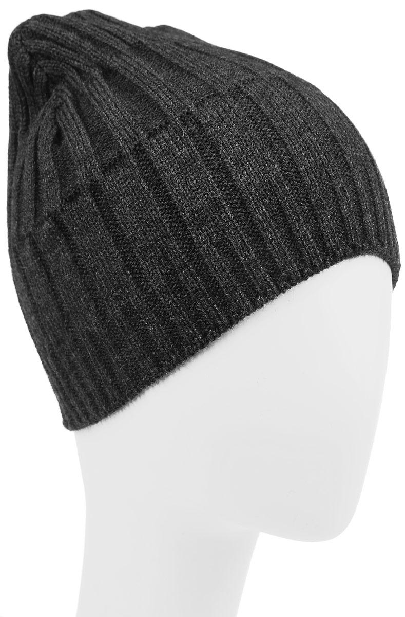 Шапка детскаяM032-22-1Стильная шапка для мальчика Concept идеально подойдет для прогулок в прохладное время года. Изготовленная из акрила с добавлением шерсти, она обладает хорошими дышащими свойствами и хорошо удерживает тепло. Оформлена модель в лаконичном стиле. Уважаемые клиенты! Размер, доступный для заказа, является обхватом головы ребенка.