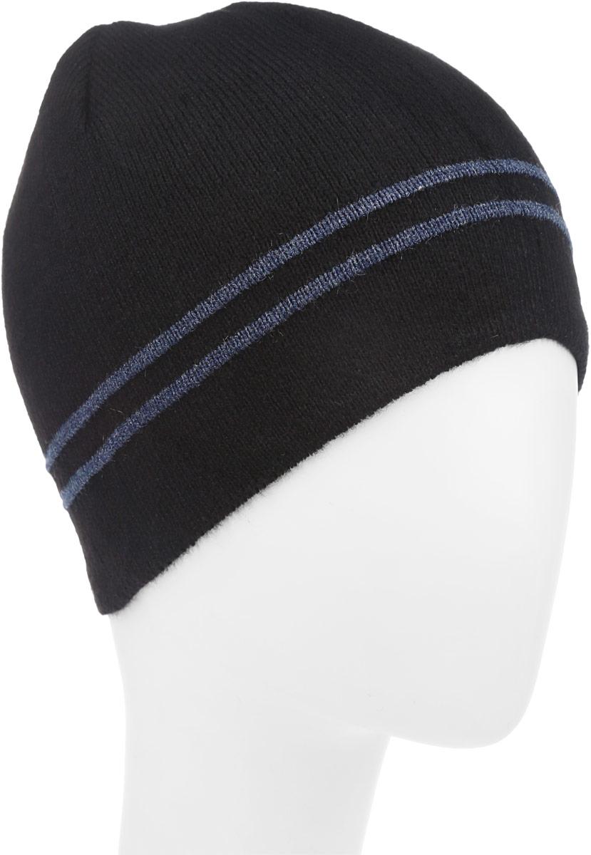 М005-22-1Стильная шапка для мальчика Concept выполнена из акрила и шерсти, она обладает хорошими дышащими свойствами и отлично удерживает тепло. Изделие великолепно тянется и удобно сидит. Шапка украшена принтом в полоску и дополнена оригинальной нашивкой с названием бренда. Уважаемые клиенты! Размер, доступный для заказа, является обхватом головы.