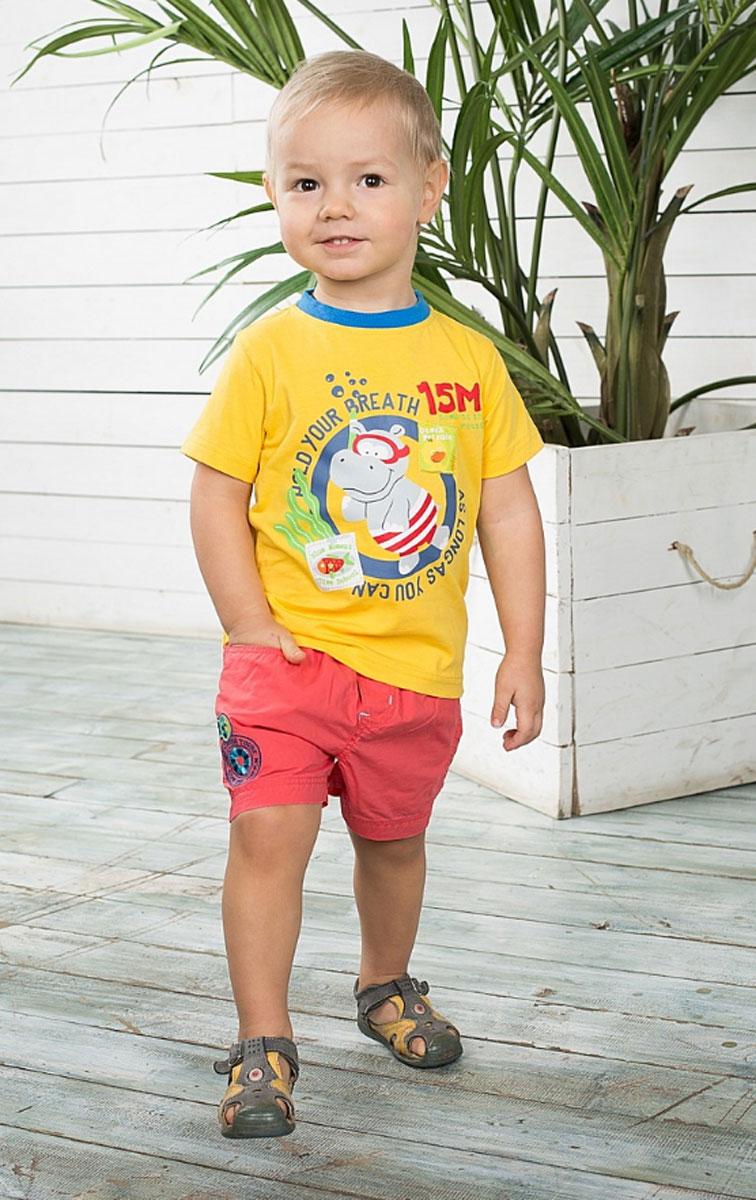 Шорты196133Текстильные шорты для мальчика Sweet Berry Baby идеально подойдут маленькому моднику и станут отличным дополнением к детскому гардеробу. Шорты выполнены из натурального хлопка, не сковывают движения и позволяют коже дышать, обеспечивая наибольший комфорт. Шорты на талии имеют имитацию ширинки, резинку, шлевки для ремня и текстильные завязки контрастного цвета. Изделие оформлено вышивкой. Спереди расположены два втачных кармана с косыми срезами. В таких стильных шортах ваш маленький мужчина будет чувствовать себя комфортно и всегда будет в центре внимания!