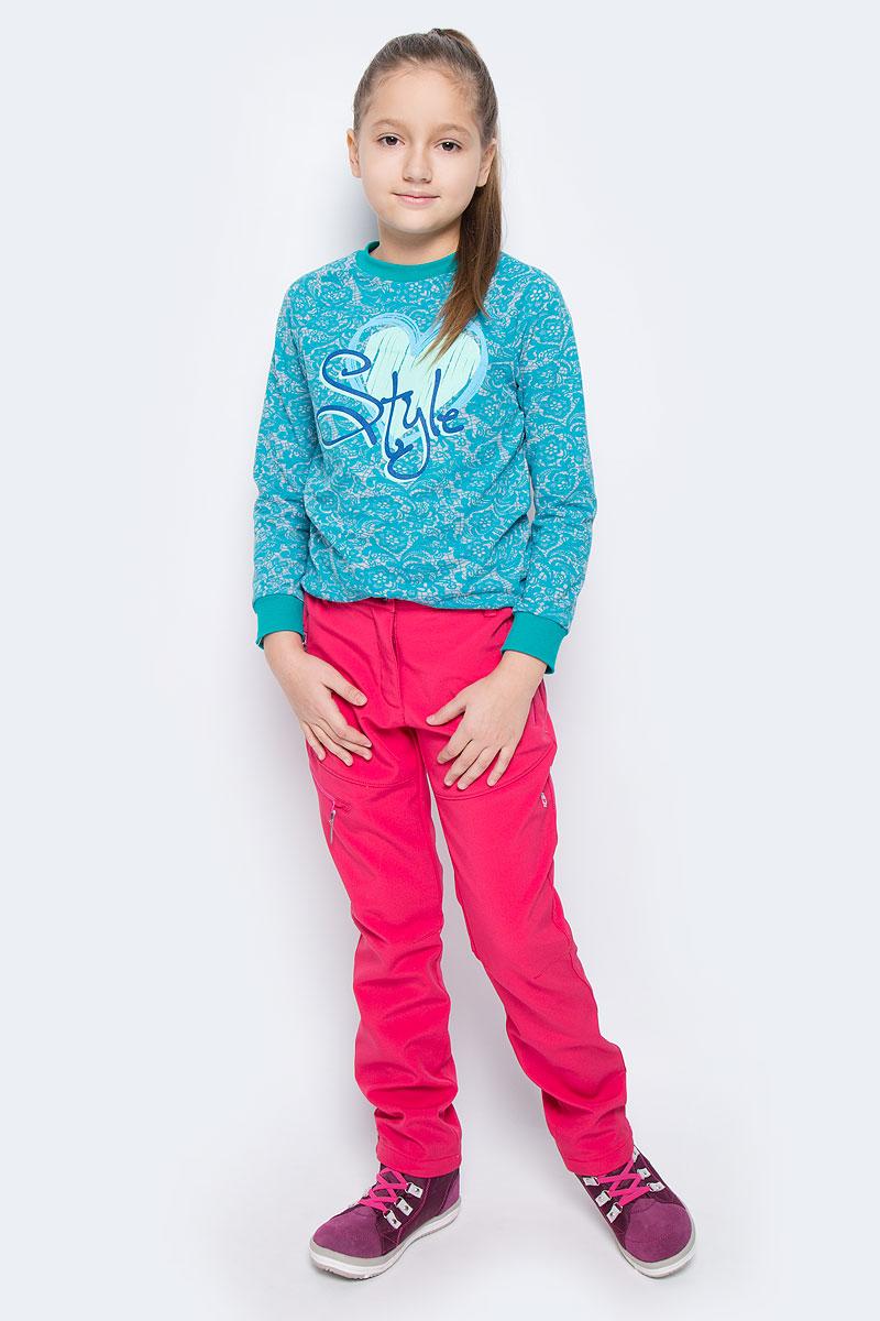 Брюки утепленные651022546IVБрюки для девочки Icepeak Ronda Jr выполнены из ветронепроницаемой ткани, с изнаночной стороны утеплены мягким флисом. Модель застегивается на молнию и металлическую пуговицу. Имеются шлевки для ремня. С внутренней стороны пояс регулируется резинкой на пуговицах. Брюки дополнены тремя прорезными карманами на застежках-молниях.