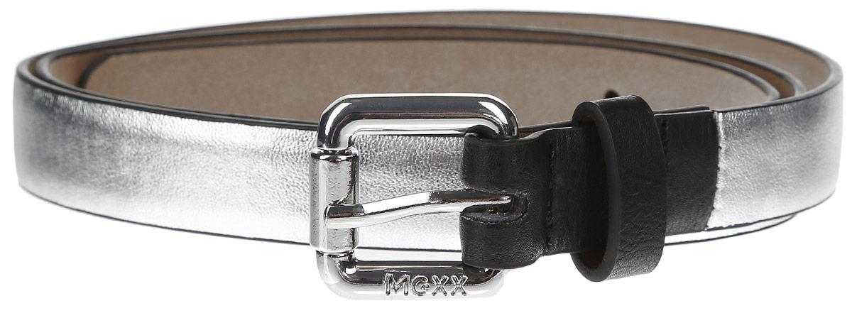 РеменьMX3024327_WM_BLT_011Стильный женский ремень Mexx изготовлен из высококачественной полиэстера. Металлическая пряжка позволит легко и быстро зафиксировать ремень и отрегулировать его длину. Пряжка дополнена названием бренда. Уважаемые клиенты! Обращаем ваше внимание на тот факт, что размер ремня, доступный для заказа, является его длиной.