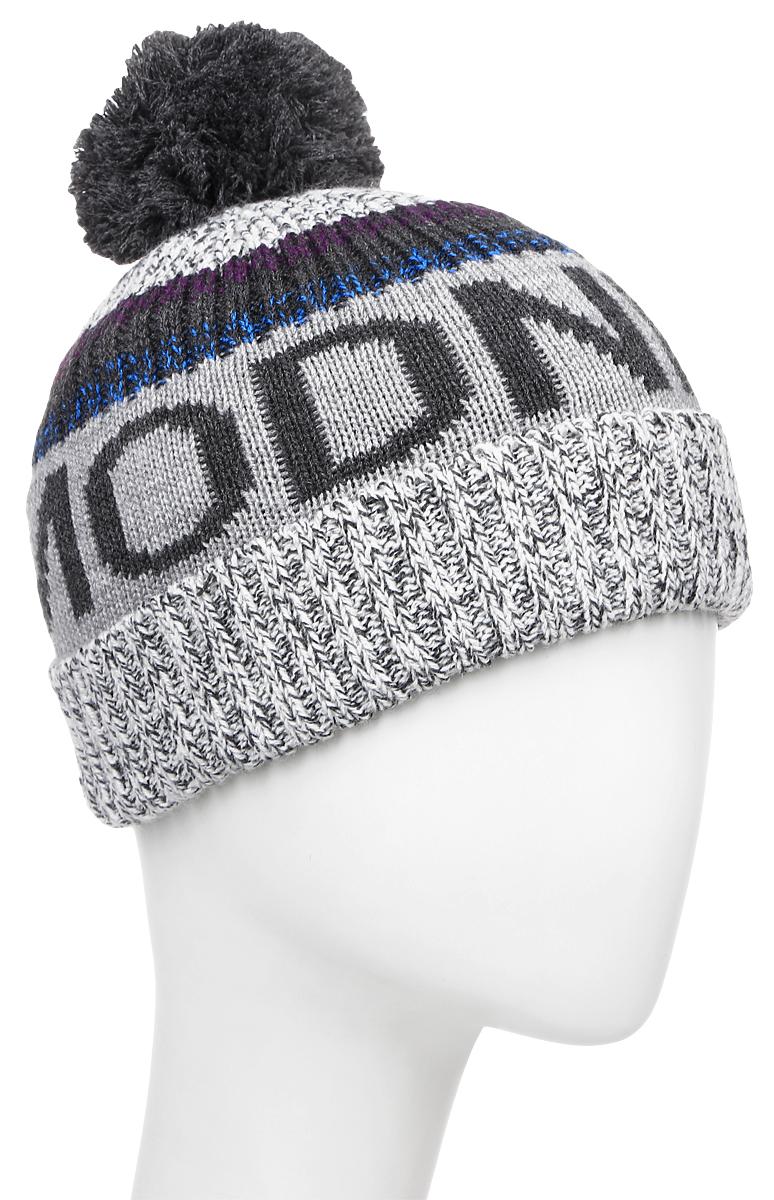 30B00030800/MODNIY_JUKСтильная теплая шапка для мальчика Modniy Juk выполнена из 100% пана. Модель дополнена отворотом и принтовыми надписями. Шапка украшена большим помпоном. Уважаемые клиенты! Размер, доступный для заказа, является обхватом головы.
