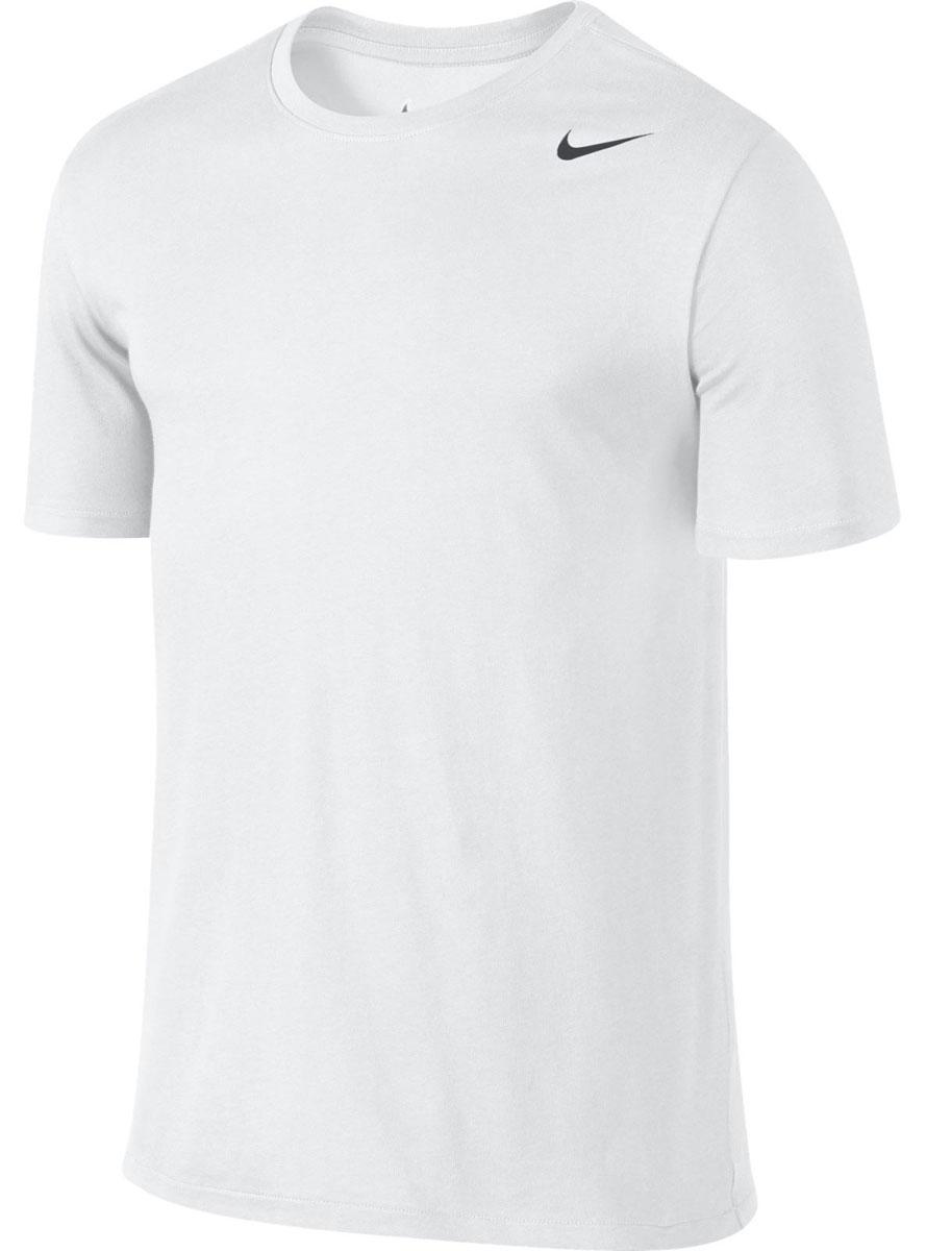 Футболка706625_010Стильная мужская футболка Nike Dri-Fit SS Version 2.0, выполненная из высококачественного хлопка с добавлением полиэстера, обладает высокой воздухопроницаемостью и гигроскопичностью, позволяет коже дышать. Сочетание хлопковой ткани и материала Nike Dri-FIT создает ощущение мягкости и одновременно способствует отведению влаги, сохраняя сухость тела продолжительное время. Классический крой и продуманное расположение швов обеспечивают максимальную свободу движений. Модель с короткими рукавами и круглым вырезом горловины - идеальный вариант для создания современного образа в спортивном стиле. Футболка оформлена логотипом Nike. Такая модель подарит вам комфорт в течение всего дня и послужит замечательным дополнением к вашему гардеробу.