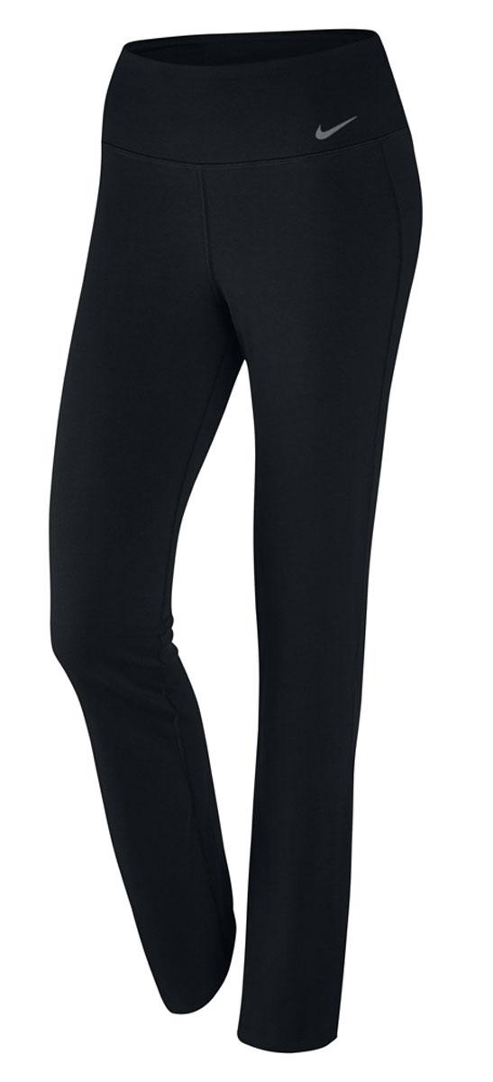 Брюки спортивные803064-010Брюки Nike W NK Dry Pan Poly Classic из текстиля Dri-FIT, выводящего лишнюю влагу с поверхности кожи. Классическая посадка, прямой крой, внутренний карман, пояс на резинке.