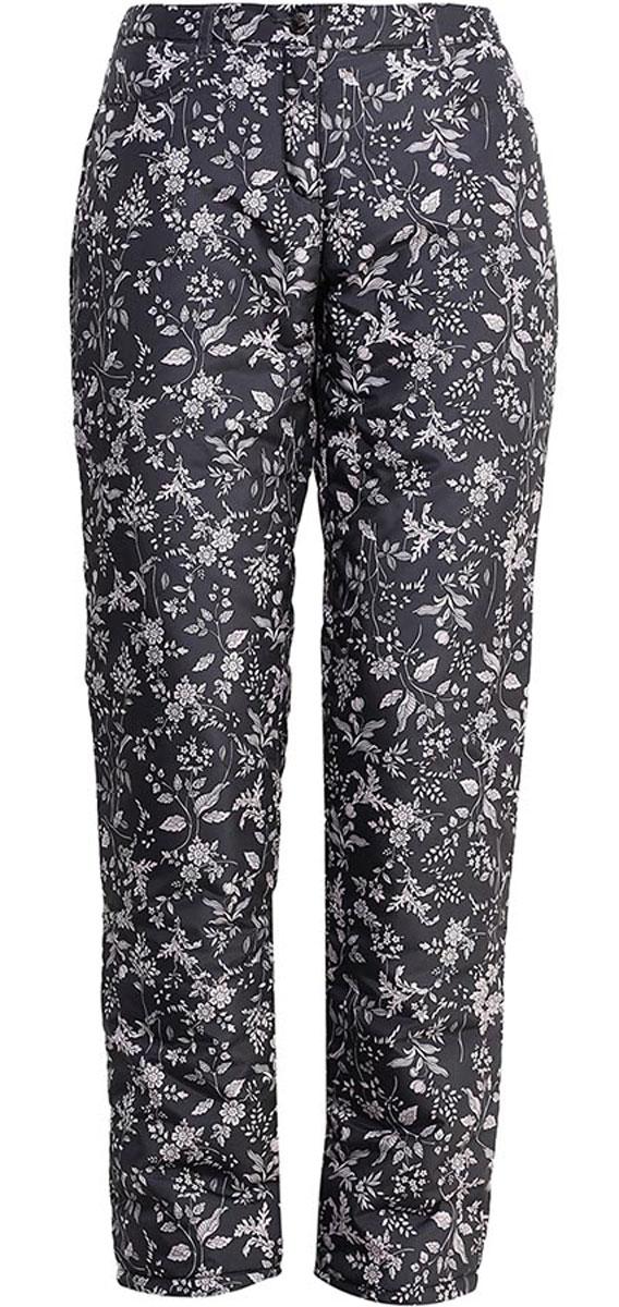 БрюкиW16-32009_202Утепленные женские брюки Finn Flare свободного покроя изготовлены из 100% полиэстера. В качестве утеплителя используется полиэстер. На поясе изделие застегивается на ширинку с молнией и пуговицу, имеются шлевки для ремня. Спереди изделие дополнено двумя втачными карманами. Оформлено изделие интересным цветочным принтом.