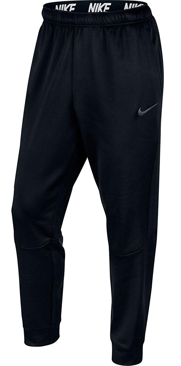 Брюки спортивные800193-010Брюки Nike M NK Therma из ткани Nike Therma надежно защищают от холода. Зауженные к лодыжкам штанины плотно облегают ноги, а эластичный пояс обеспечивает комфортную посадку.