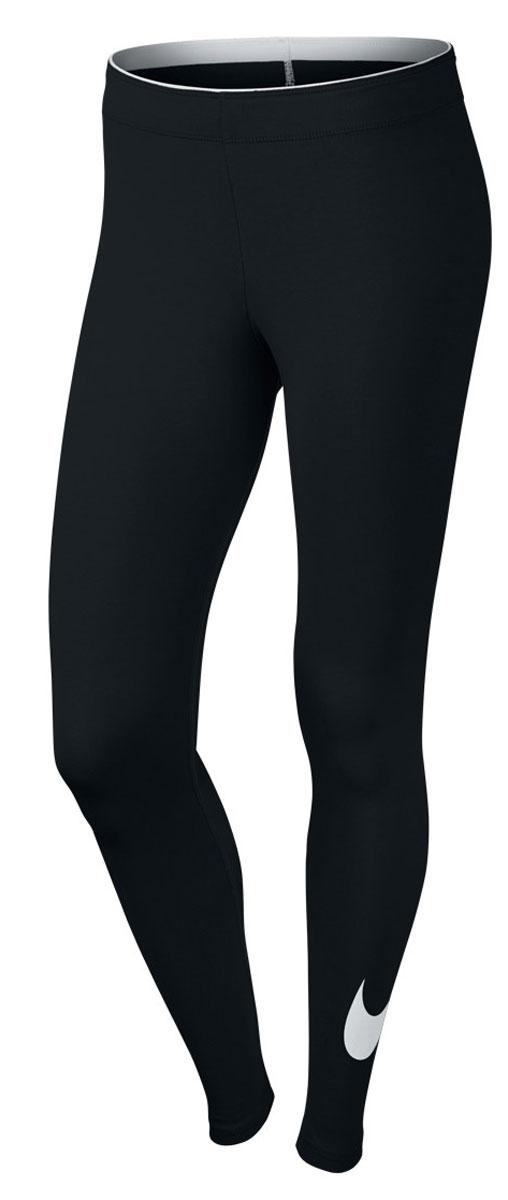 815997-010Леггинсы Nike выполнены из хлопкового трикотажа.Зауженный крой, резинка на талии, плоские швы.