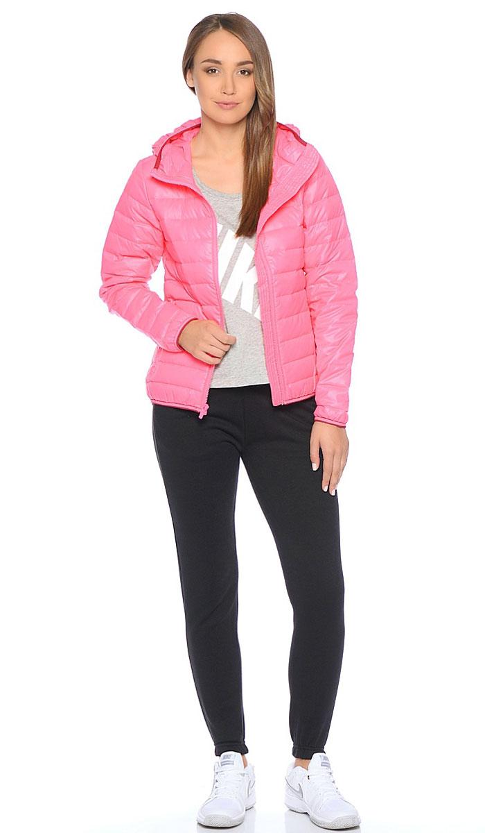 Пуховик805082-627Куртка Nike Down Fill Jkt из гладкого текстиля. C натуральным утеплителем, застежка на молнию, прямой крой, два кармана на молнии.