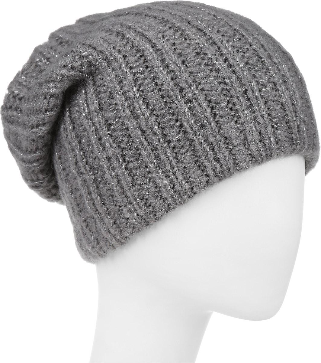 F2251857E-05Вязаная женская шапка Vittorio Richi выполнена из мохера с добавлением шерсти, акрила и полиэстера. Модель оформлена вязаным узором. Уважаемые клиенты! Размер, доступный для заказа, является обхватом головы.
