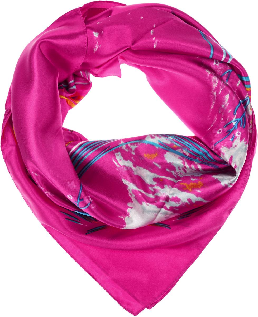 HS1602-2-1Стильный женский платок Vittorio Richi станет великолепным завершением любого наряда. Платок изготовлен из полиэстера с добавлением шелка. Изделие оформлено оригинальным цветочным принтом. Классическая квадратная форма позволяет носить платок на шее, украшать им прическу или декорировать сумочку. Такой платок превосходно дополнит любой наряд и подчеркнет ваш неповторимый вкус и элегантность.