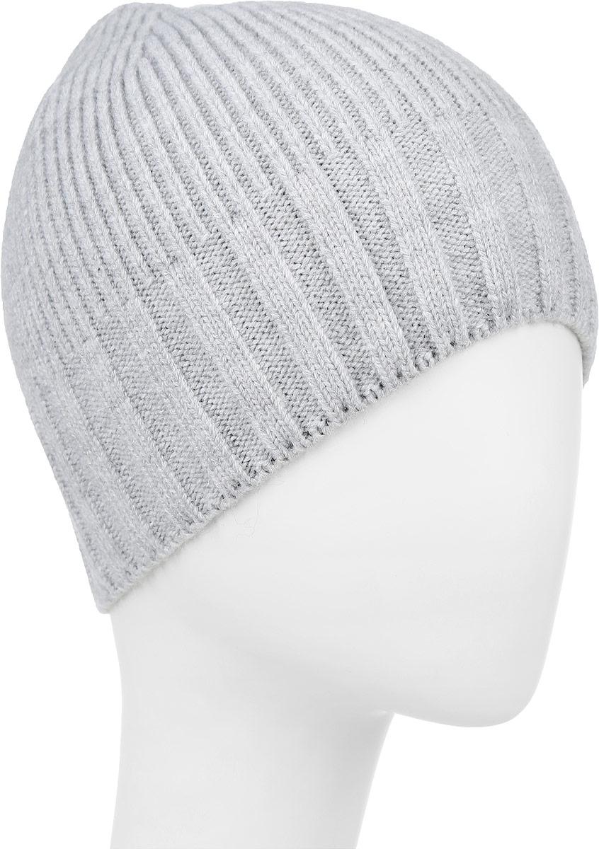 ШапкаF2251861B-18Теплая мужская шапка Vittorio Richi выполнена из шерсти с добавлением акрила. Модель понизу дополнена широкой вязаной резинкой . Уважаемые клиенты! Размер, доступный для заказа, является обхватом головы.