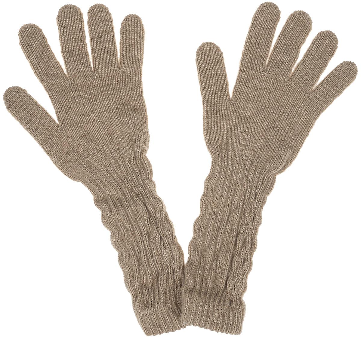 PALMA-22Уютные перчатки для девочки Margot Bis Palma идеально подойдут для прогулок в прохладное время года. Изготовленные из высококачественного акрила, очень мягкие и приятные на ощупь и хорошо сохраняют тепло. Удлиненные перчатки выполнены в лаконичном однотонном стиле. Верх модели на мягкой резинке, которая не стягивает запястья и надежно фиксирует перчатки на ручках ребенка.