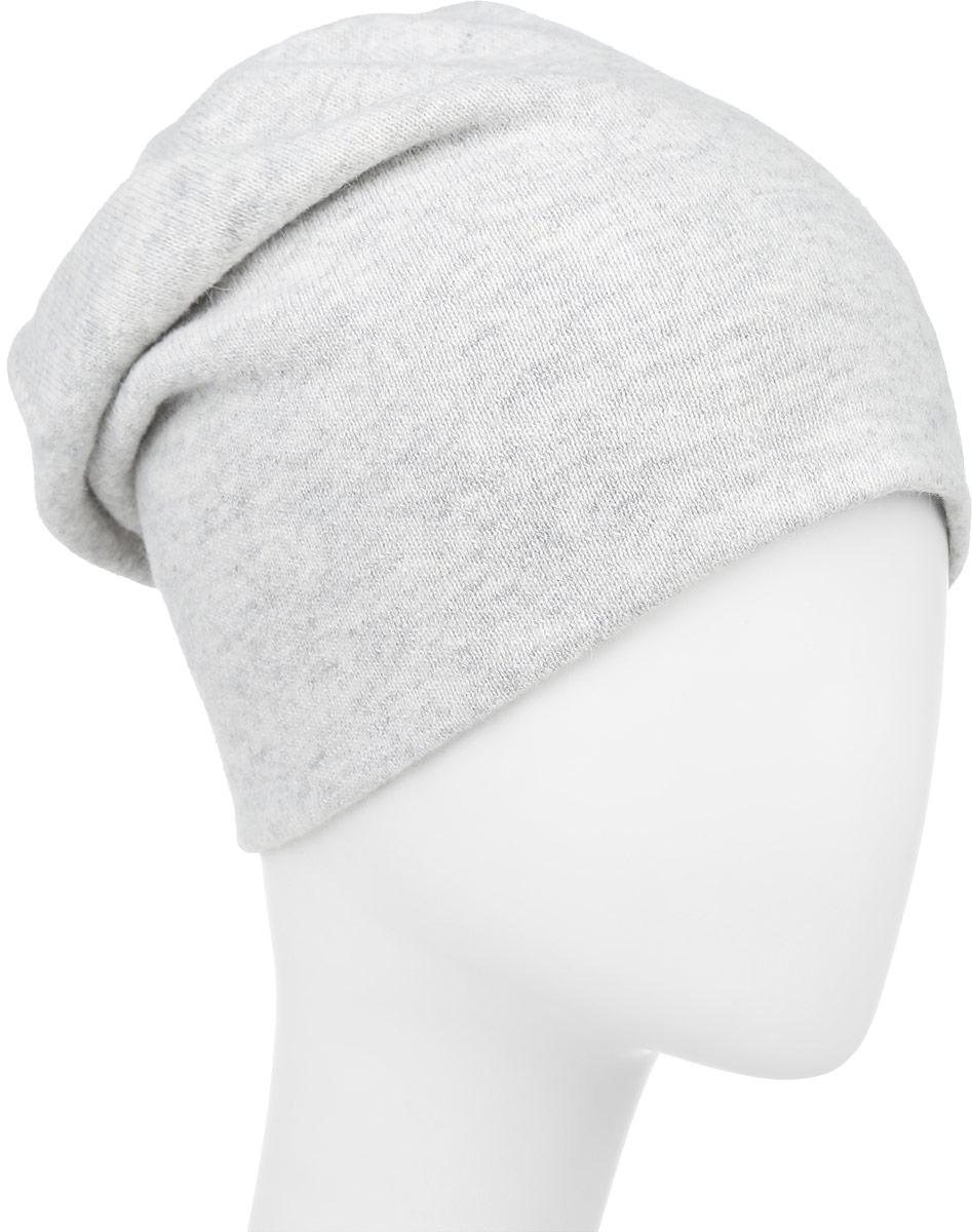 F2241899L-85Теплая женская шапка Vittorio Richi выполнена из шерсти с добавлением ангоры и полиамида. Модель оформлена металлическими цепочками. Уважаемые клиенты! Размер, доступный для заказа, является обхватом головы.