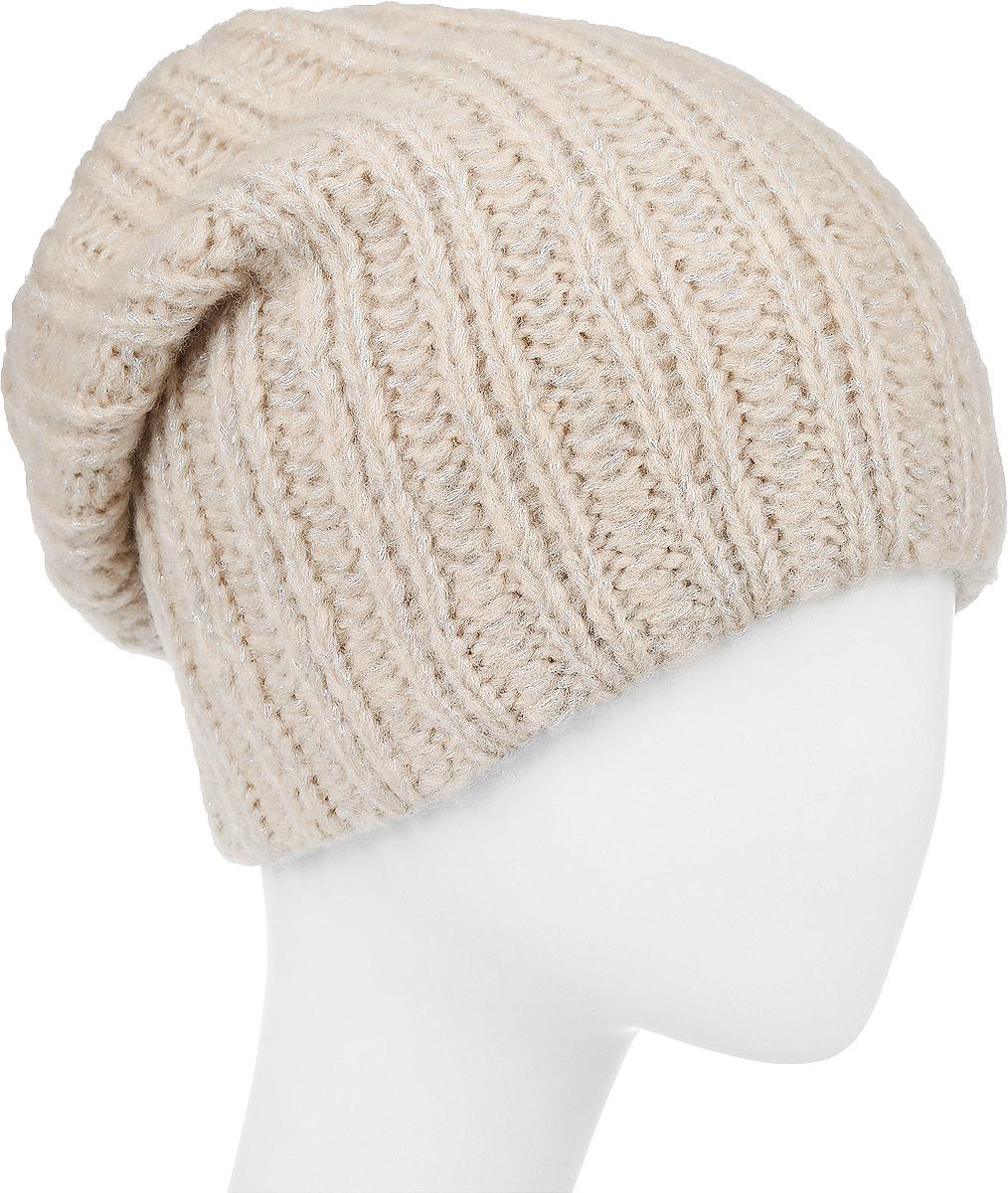 ШапкаF2251857E-05Вязаная женская шапка Vittorio Richi выполнена из мохера с добавлением шерсти, акрила и полиэстера. Модель оформлена вязаным узором. Уважаемые клиенты! Размер, доступный для заказа, является обхватом головы.
